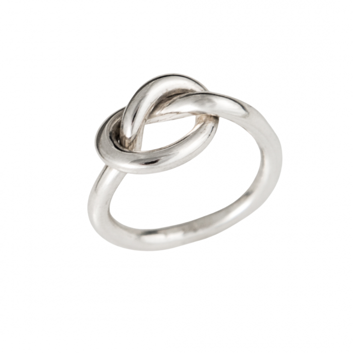 Siesta Silver Jewelry Knot Ring R7036