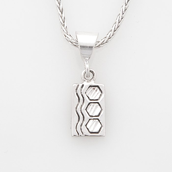 Sexy Hexie Quilt Jewelry Charm