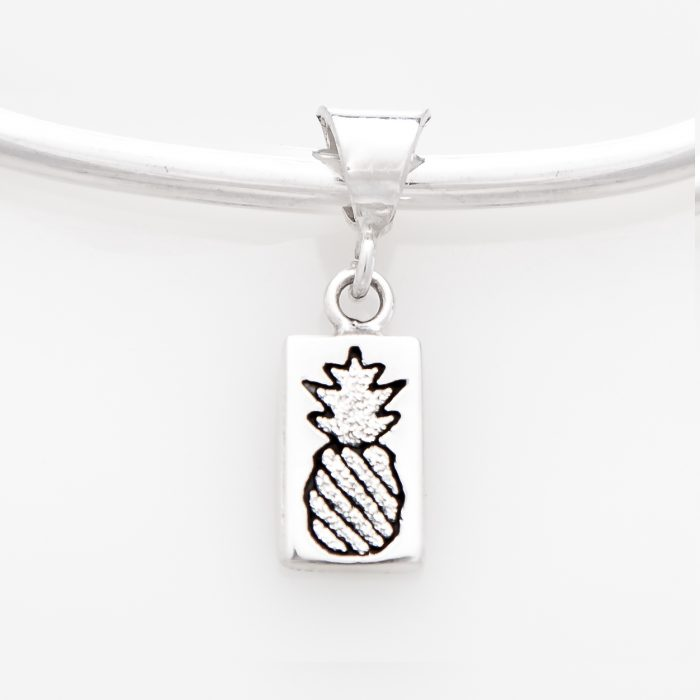 Crowned Pineapple Quilt Jewelry Charm