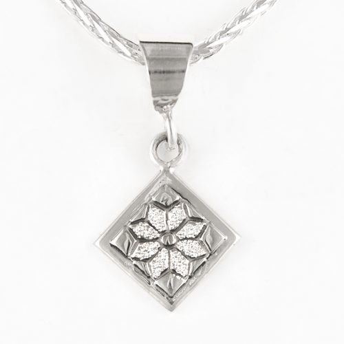 Dresden Plate Quilt Jewelry Charm