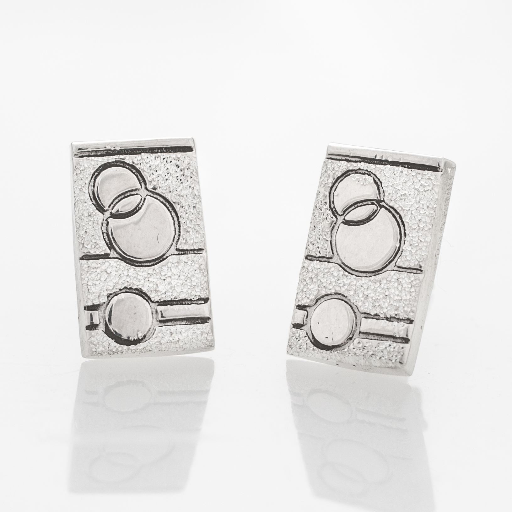 Glitzy Sister Quilt Jewelry Post Earrings