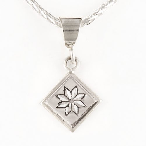 Lemoyne Star Quilt Jewelry Charm