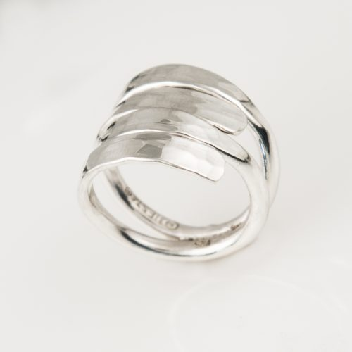 Relaxed Layers Sterling Silver Ring