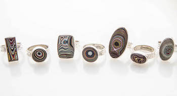 Siesta Silver Fordite Collection