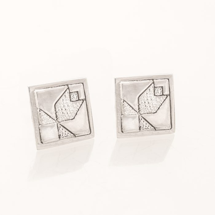 Tulip Quilt Jewelry Post Earrings
