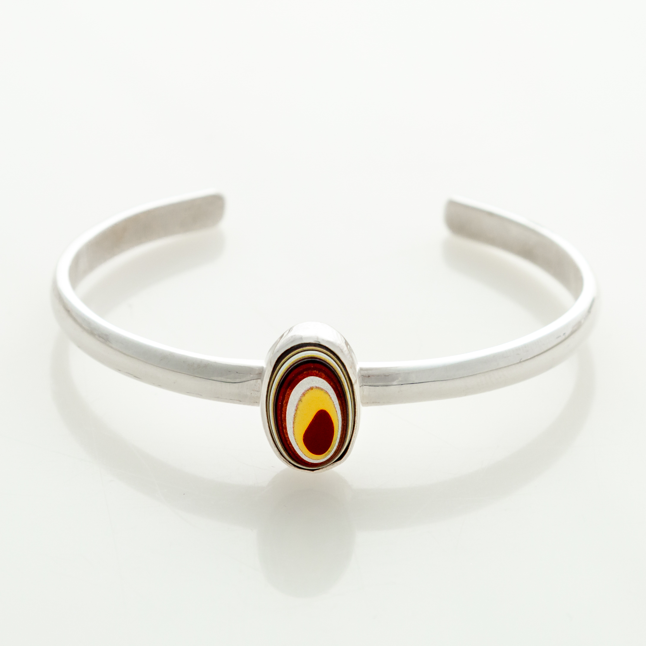 Fordite Corvette Paint Bangle