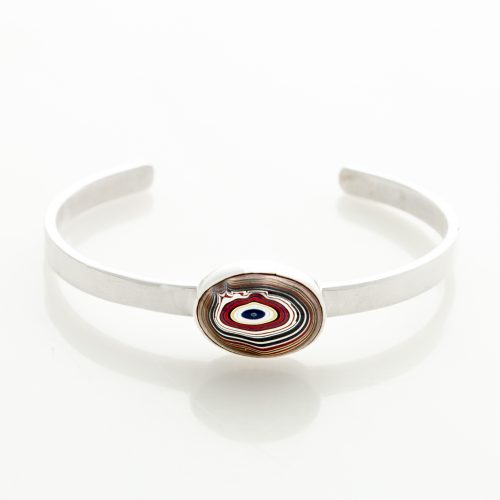 Fordite Corvette Paint Hot Rod Bangle