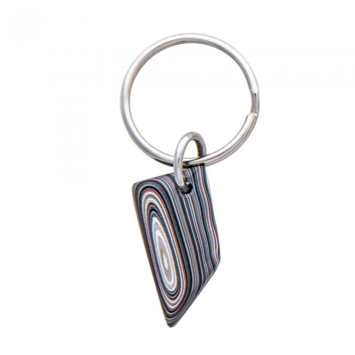 Fordite Key Chain KCF0033