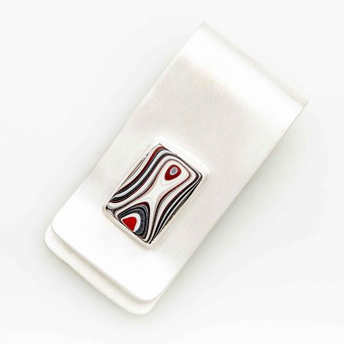 Fordite Money Clip MCFord0001