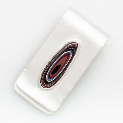 Fordite Money Clip MCFord0002