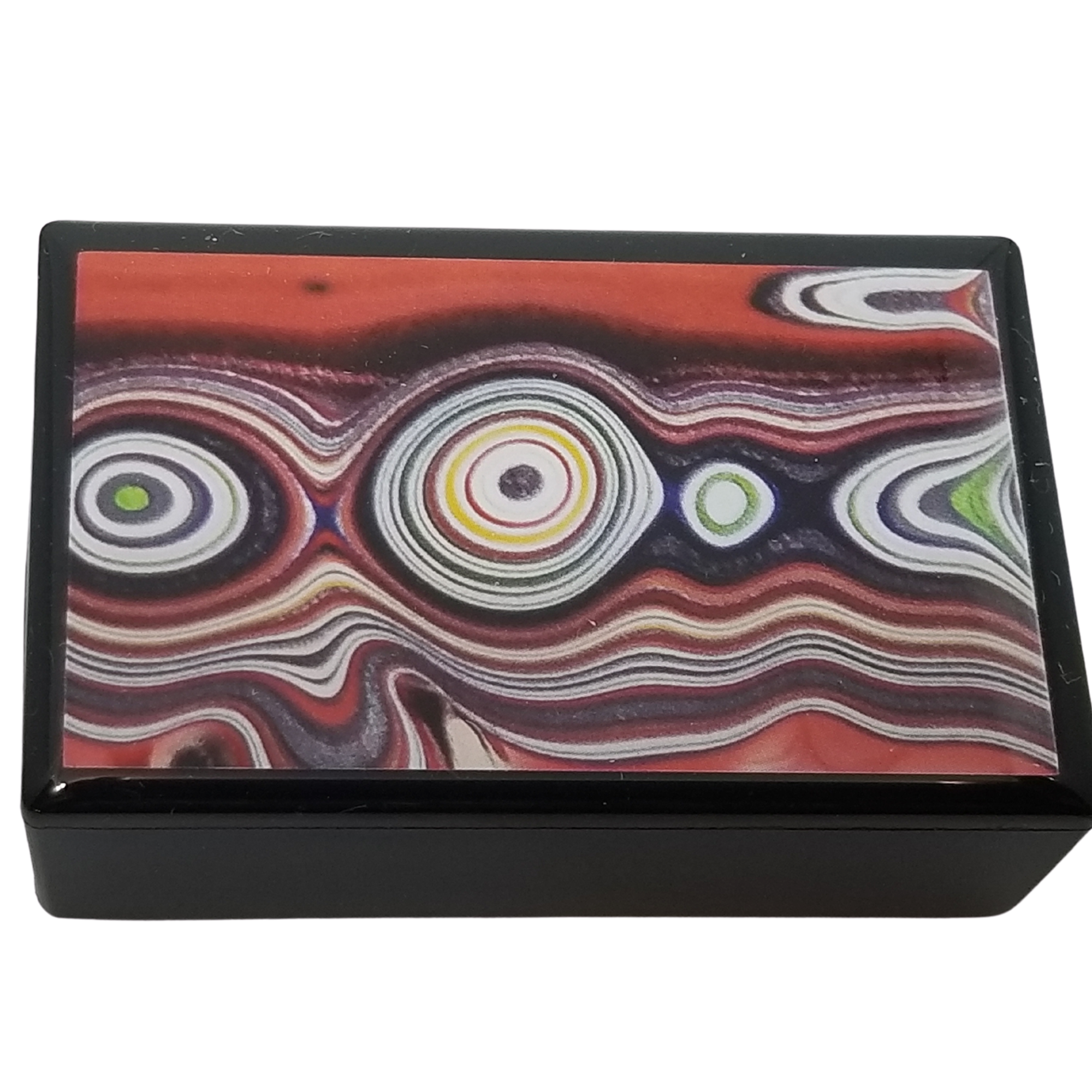 Fordite Mustang Paint Mint Box
