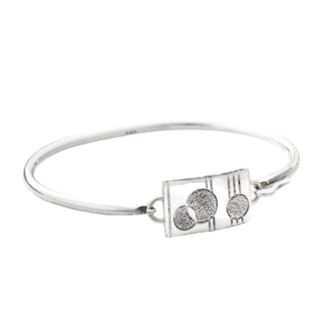 Smooth Sister Center Piece for our Siesta Convertible Bangles Sterling Silver Siesta Silver Jewelry